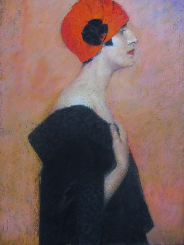人物粉彩,澳大利亚女画家Judy Drew插图19