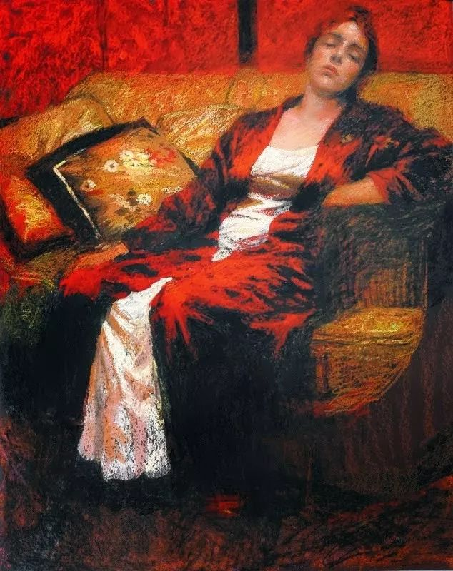 人物粉彩,澳大利亚女画家Judy Drew插图45