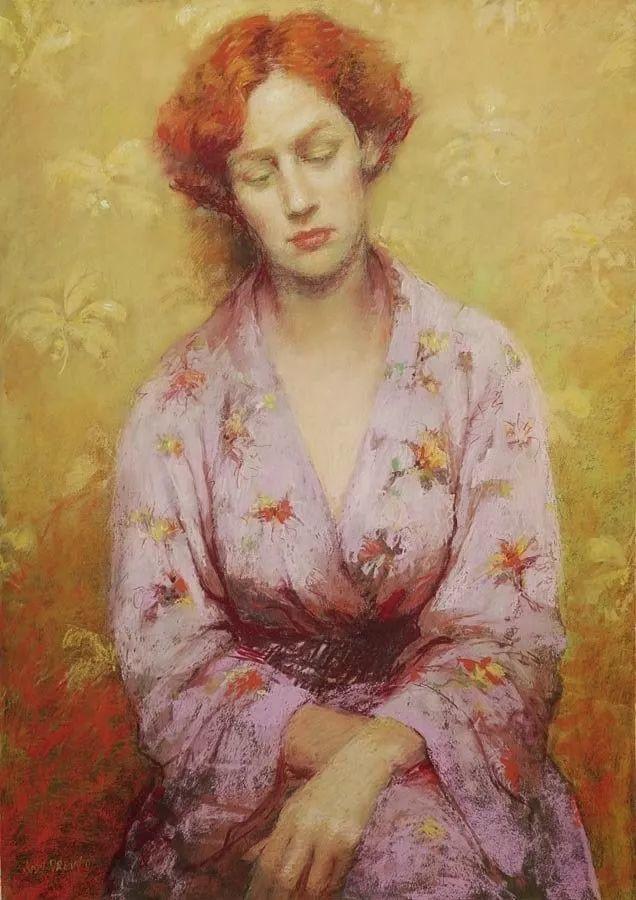 人物粉彩,澳大利亚女画家Judy Drew插图47