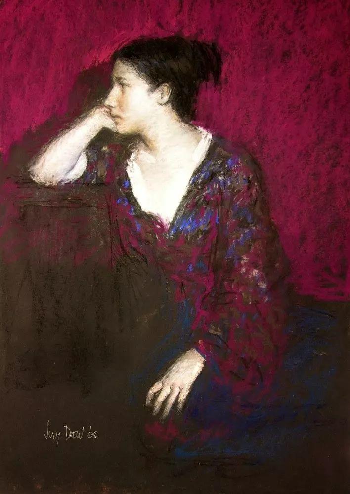 人物粉彩,澳大利亚女画家Judy Drew插图57