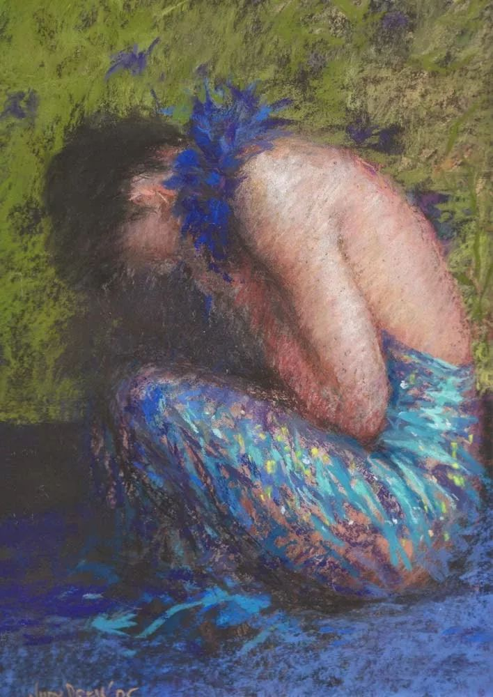 人物粉彩,澳大利亚女画家Judy Drew插图29
