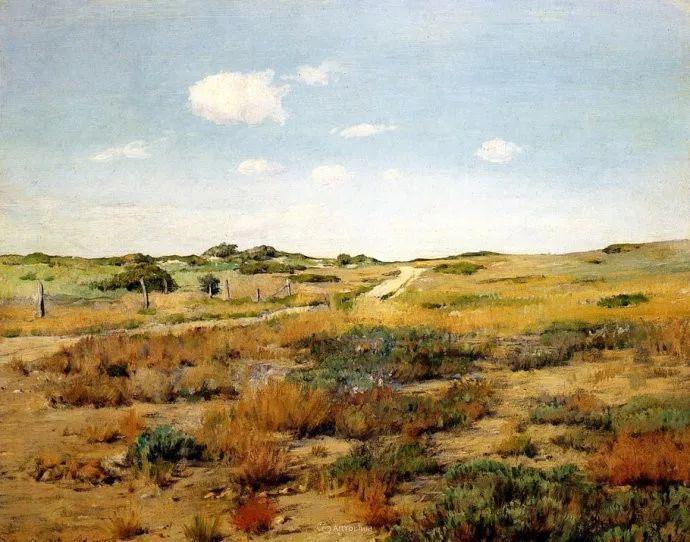 美国印象派画家William Merritt Chase插图1