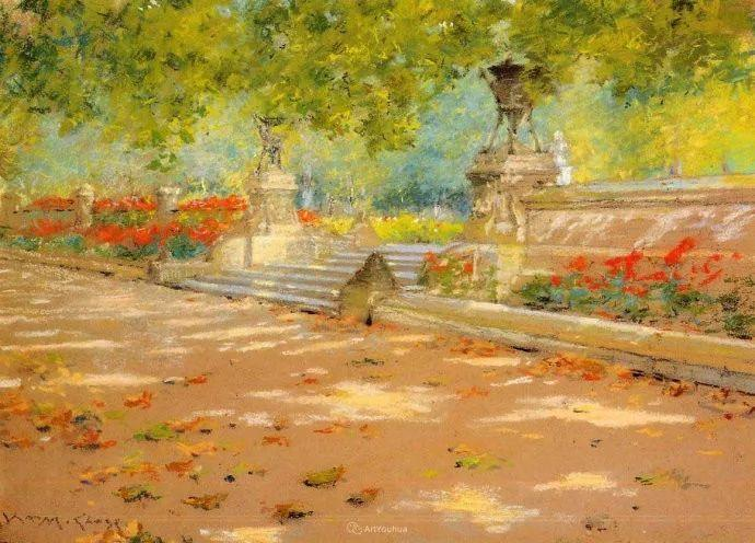 美国印象派画家William Merritt Chase插图5