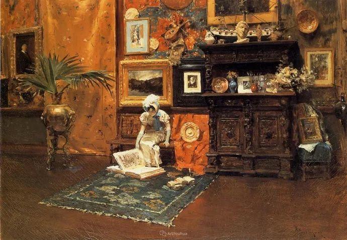 美国印象派画家William Merritt Chase插图29