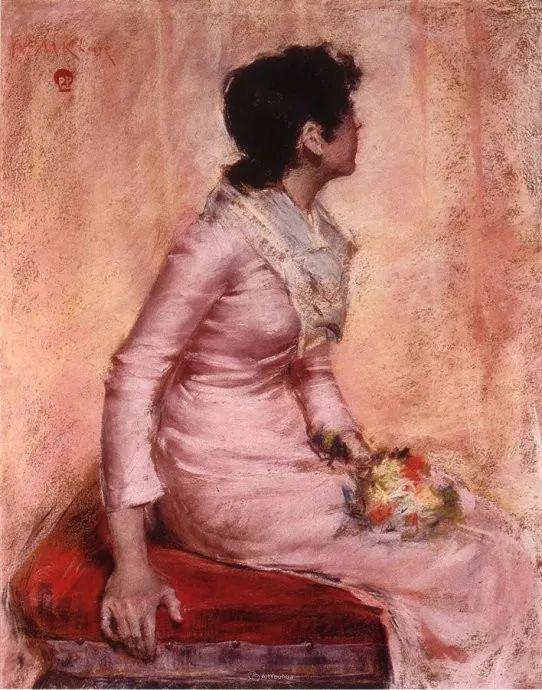 美国印象派画家William Merritt Chase插图33