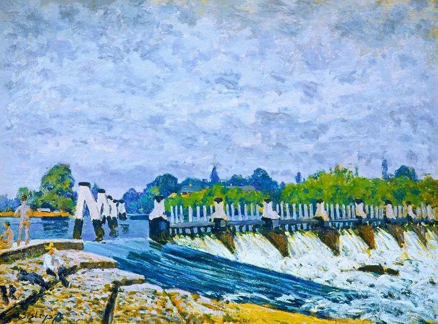 """风景画圣手,印象派""""七星""""中璀璨的明珠,英国画家Alfred Sisley插图8"""