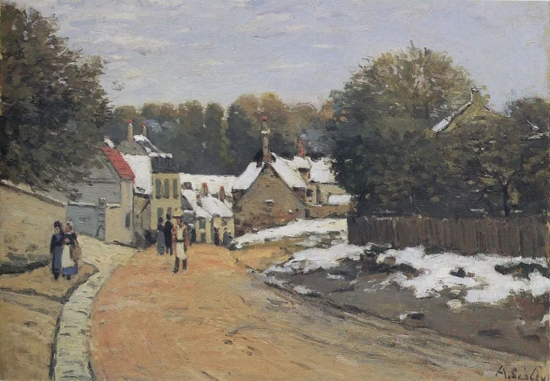 """风景画圣手,印象派""""七星""""中璀璨的明珠,英国画家Alfred Sisley插图28"""