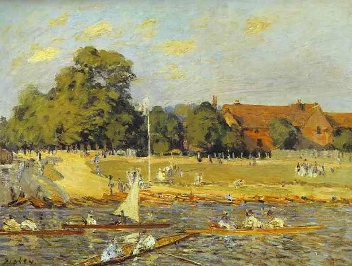 """风景画圣手,印象派""""七星""""中璀璨的明珠,英国画家Alfred Sisley插图29"""