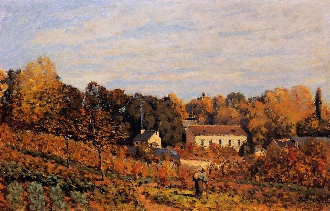 """风景画圣手,印象派""""七星""""中璀璨的明珠,英国画家Alfred Sisley插图31"""