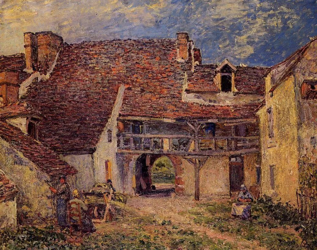 """风景画圣手,印象派""""七星""""中璀璨的明珠,英国画家Alfred Sisley插图33"""