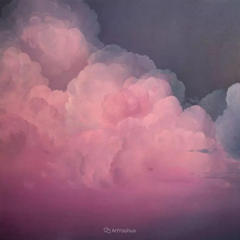 天空,是充满神秘的灵感,十年执着于画一朵云——伊恩·费舍尔插图2
