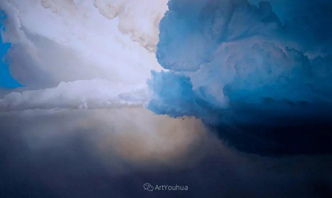 天空,是充满神秘的灵感,十年执着于画一朵云——伊恩·费舍尔插图3