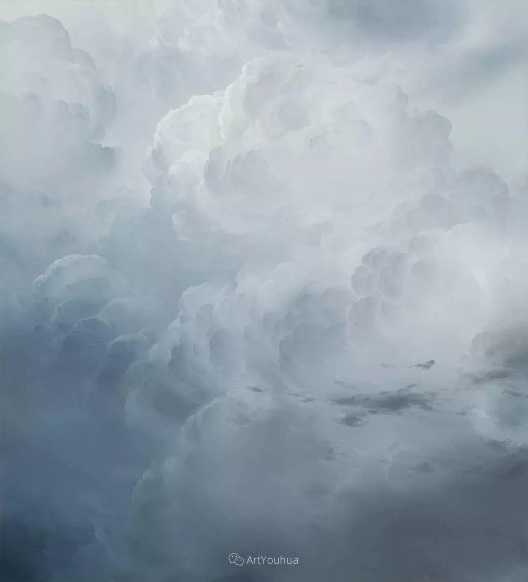 天空,是充满神秘的灵感,十年执着于画一朵云——伊恩·费舍尔插图4