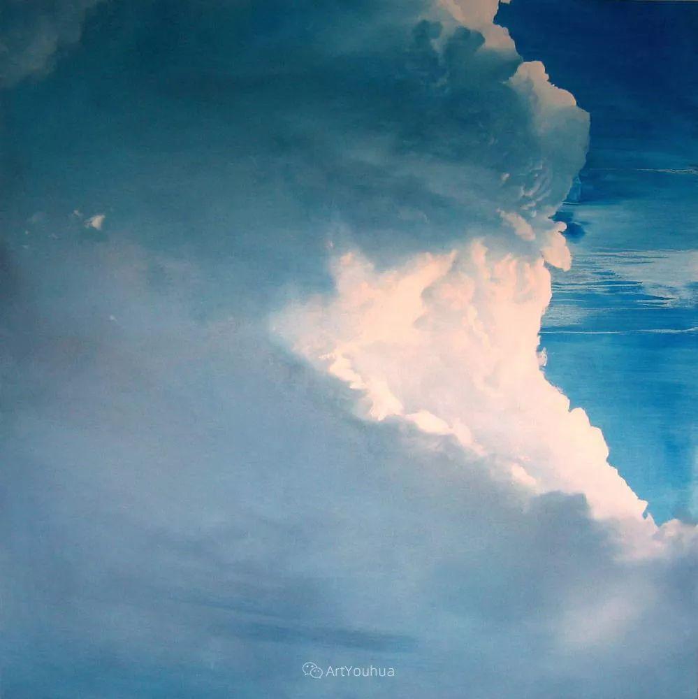 天空,是充满神秘的灵感,十年执着于画一朵云——伊恩·费舍尔插图6