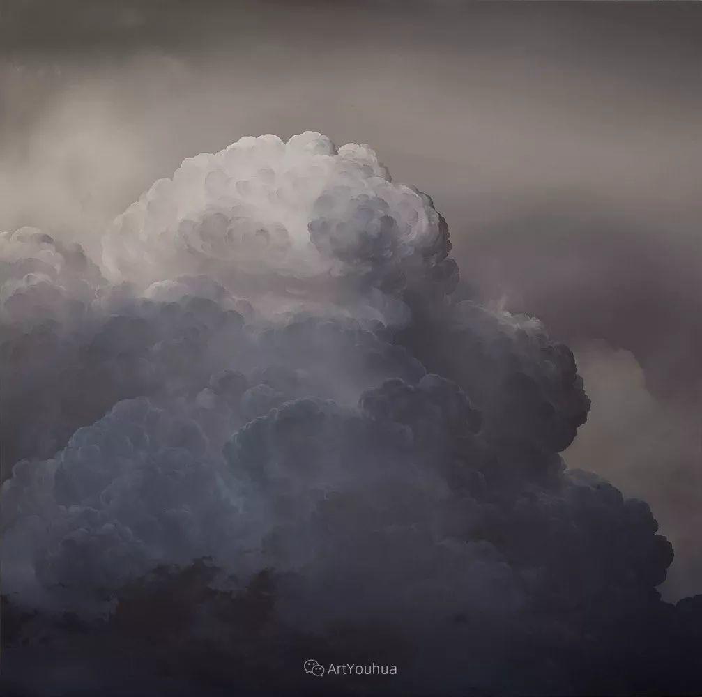 天空,是充满神秘的灵感,十年执着于画一朵云——伊恩·费舍尔插图9