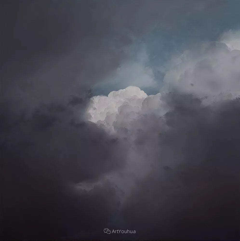 天空,是充满神秘的灵感,十年执着于画一朵云——伊恩·费舍尔插图10
