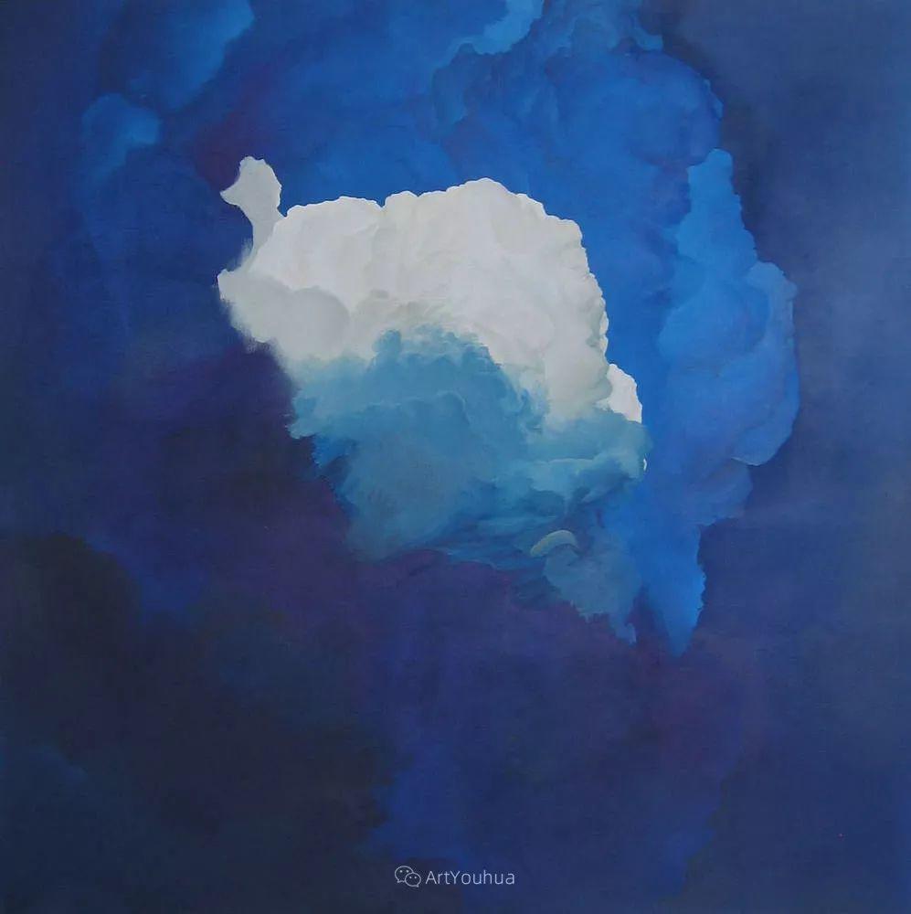 天空,是充满神秘的灵感,十年执着于画一朵云——伊恩·费舍尔插图11