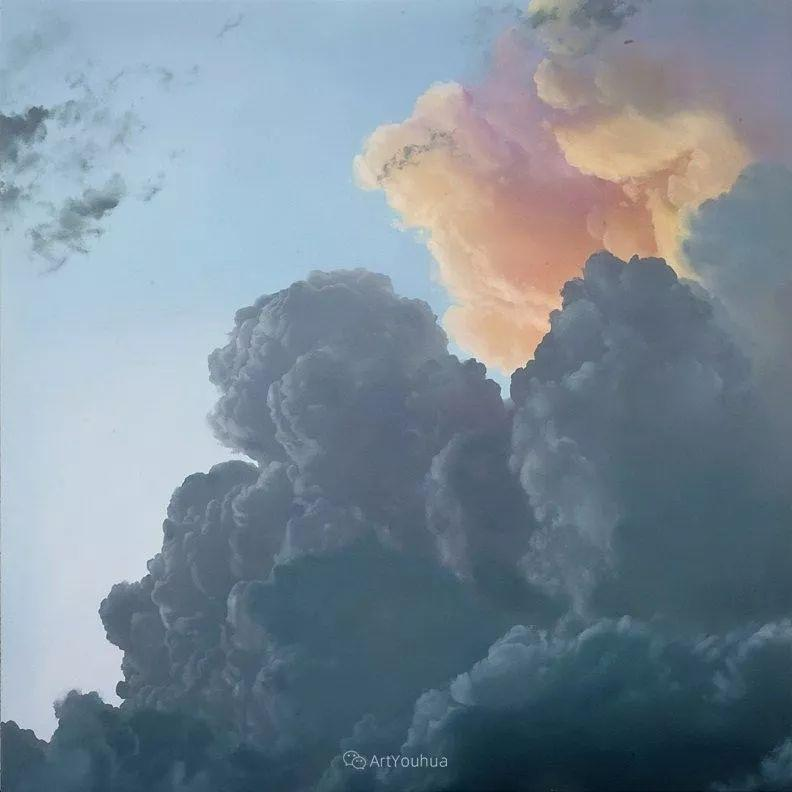 天空,是充满神秘的灵感,十年执着于画一朵云——伊恩·费舍尔插图12