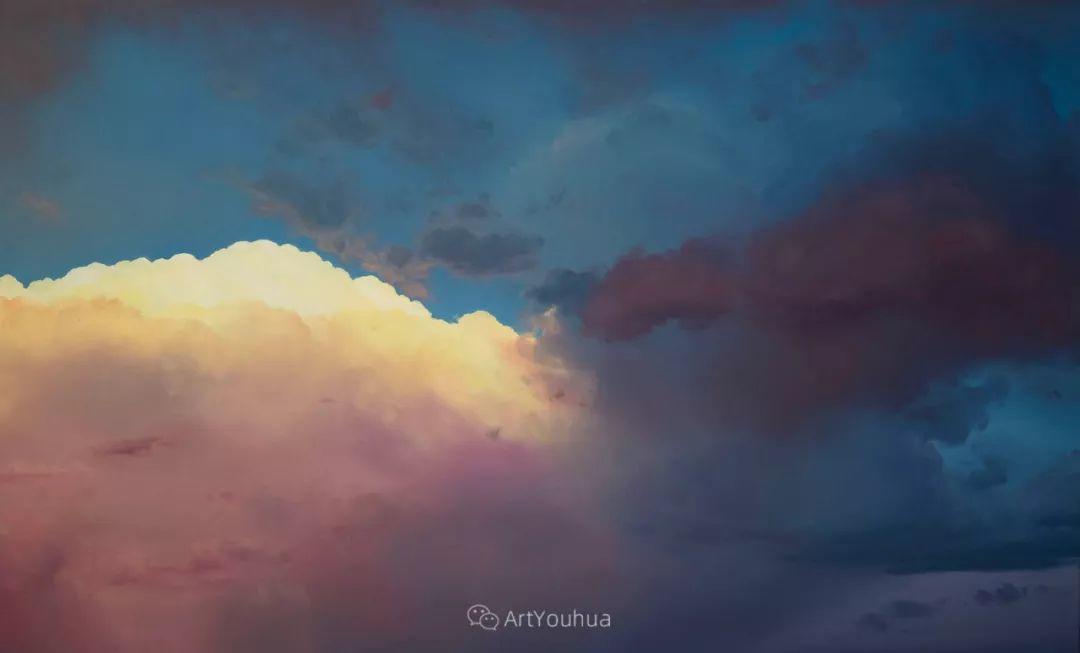 天空,是充满神秘的灵感,十年执着于画一朵云——伊恩·费舍尔插图17