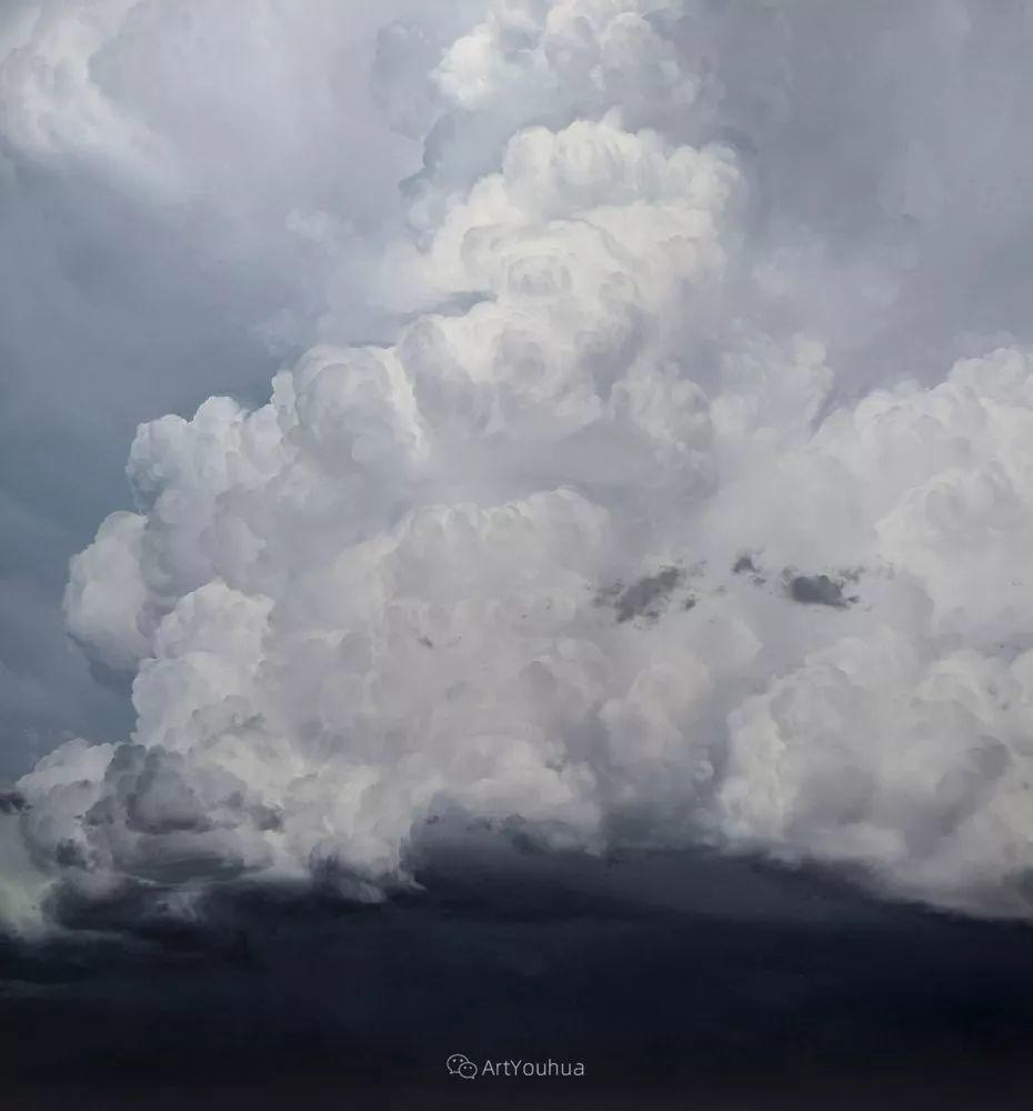 天空,是充满神秘的灵感,十年执着于画一朵云——伊恩·费舍尔插图20