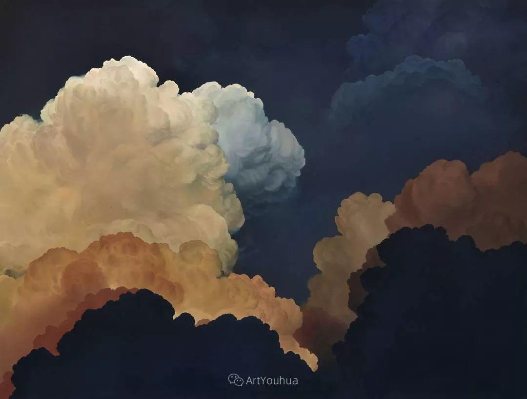 天空,是充满神秘的灵感,十年执着于画一朵云——伊恩·费舍尔插图32