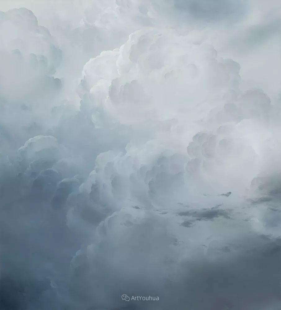 天空,是充满神秘的灵感,十年执着于画一朵云——伊恩·费舍尔插图46