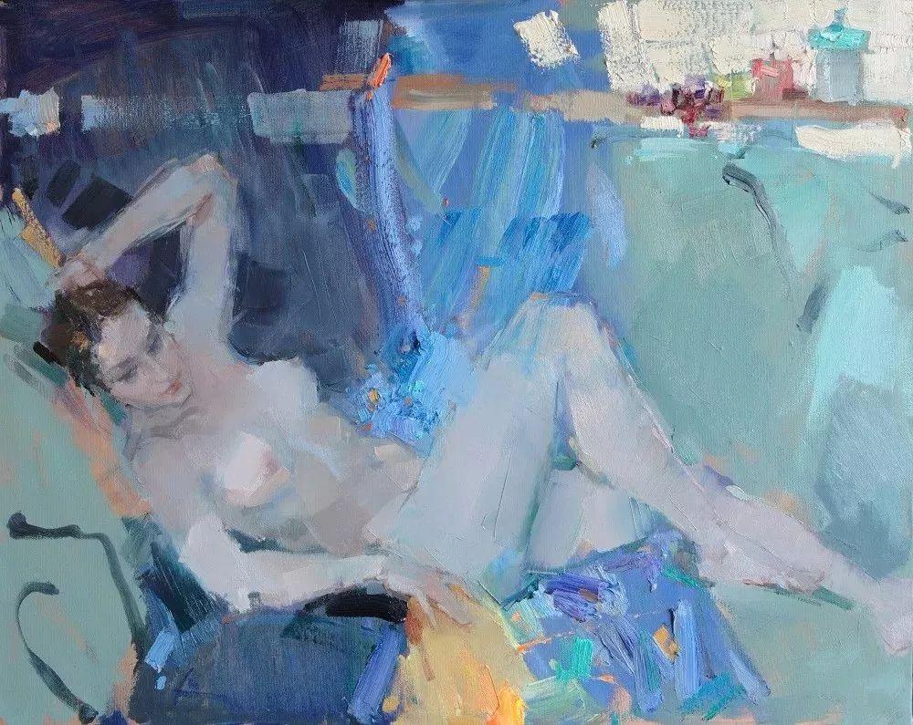 曾经休画15年,人体作品还是杠杠的,俄罗斯画家Slava Korolenkov插图