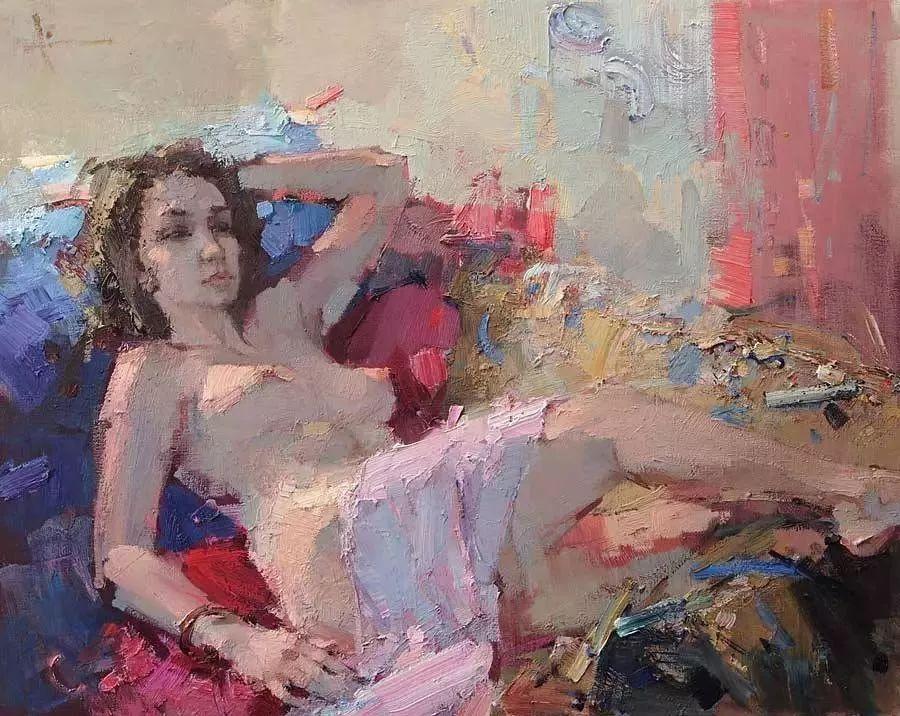曾经休画15年,人体作品还是杠杠的,俄罗斯画家Slava Korolenkov插图1