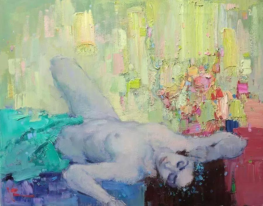 曾经休画15年,人体作品还是杠杠的,俄罗斯画家Slava Korolenkov插图3