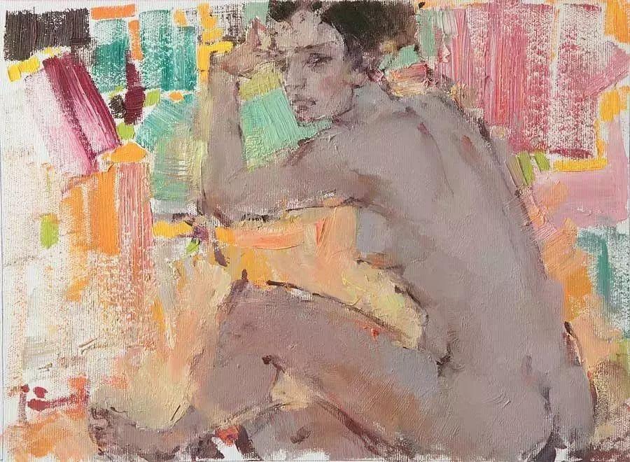 曾经休画15年,人体作品还是杠杠的,俄罗斯画家Slava Korolenkov插图7