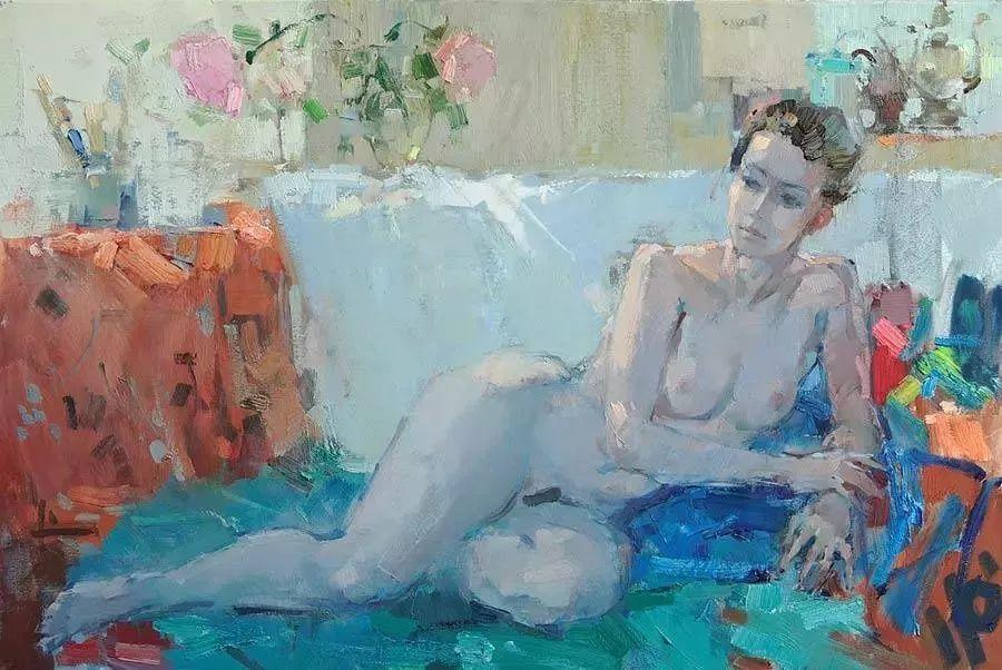 曾经休画15年,人体作品还是杠杠的,俄罗斯画家Slava Korolenkov插图8