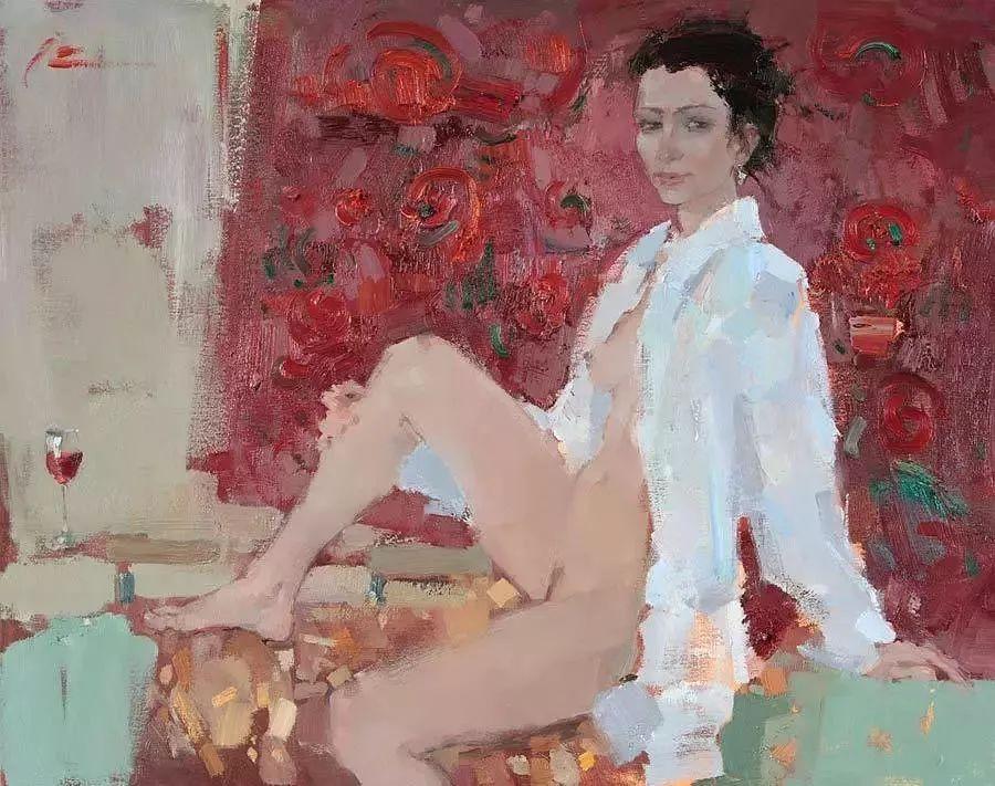 曾经休画15年,人体作品还是杠杠的,俄罗斯画家Slava Korolenkov插图10