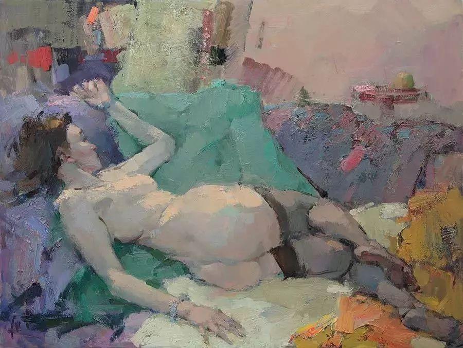 曾经休画15年,人体作品还是杠杠的,俄罗斯画家Slava Korolenkov插图13