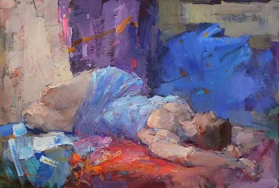 曾经休画15年,人体作品还是杠杠的,俄罗斯画家Slava Korolenkov插图15