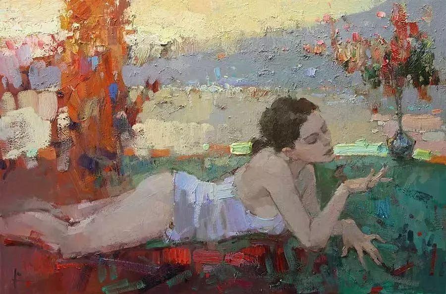 曾经休画15年,人体作品还是杠杠的,俄罗斯画家Slava Korolenkov插图16