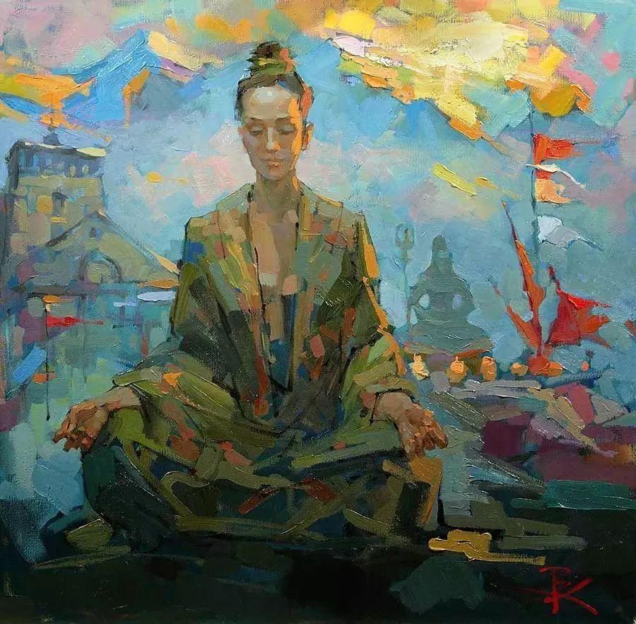 曾经休画15年,人体作品还是杠杠的,俄罗斯画家Slava Korolenkov插图18