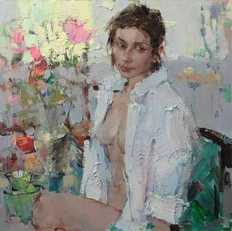 曾经休画15年,人体作品还是杠杠的,俄罗斯画家Slava Korolenkov插图19