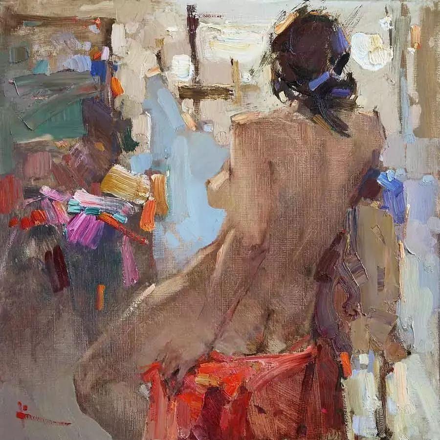 曾经休画15年,人体作品还是杠杠的,俄罗斯画家Slava Korolenkov插图20
