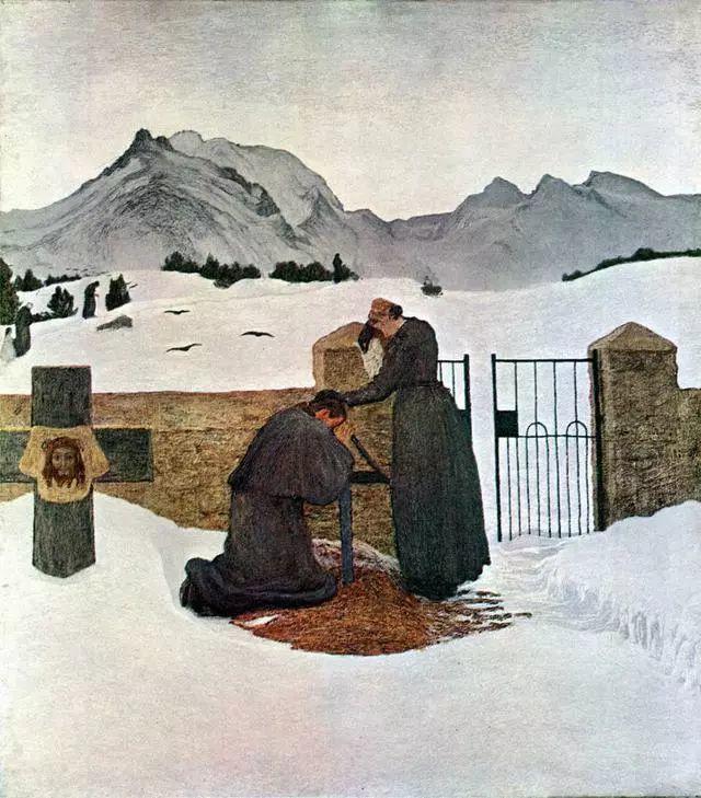 """英年早逝,从事艺术20年,被世人称为""""农民画家""""的Segantini插图5"""