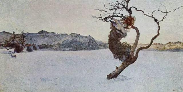 """英年早逝,从事艺术20年,被世人称为""""农民画家""""的Segantini插图6"""