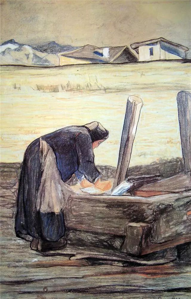 """英年早逝,从事艺术20年,被世人称为""""农民画家""""的Segantini插图9"""