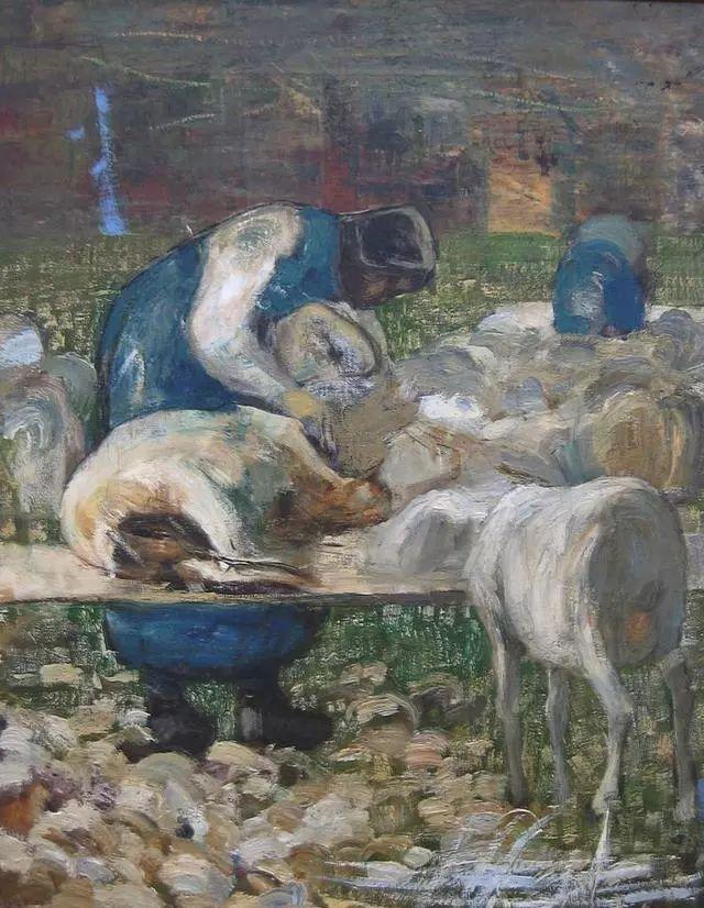 """英年早逝,从事艺术20年,被世人称为""""农民画家""""的Segantini插图10"""