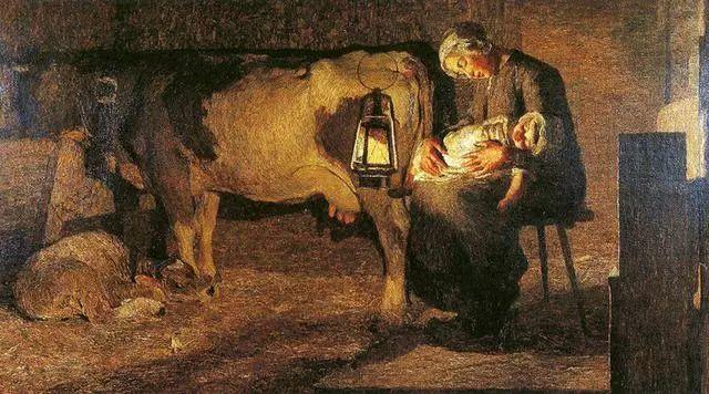"""英年早逝,从事艺术20年,被世人称为""""农民画家""""的Segantini插图12"""