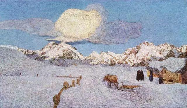 """英年早逝,从事艺术20年,被世人称为""""农民画家""""的Segantini插图14"""