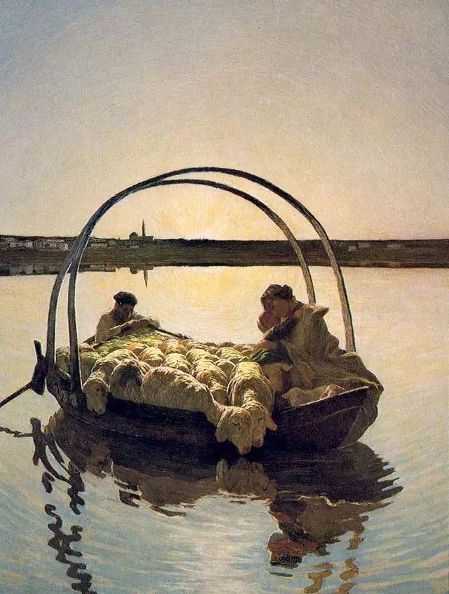 """英年早逝,从事艺术20年,被世人称为""""农民画家""""的Segantini插图17"""