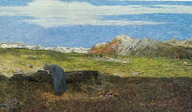 """英年早逝,从事艺术20年,被世人称为""""农民画家""""的Segantini插图19"""