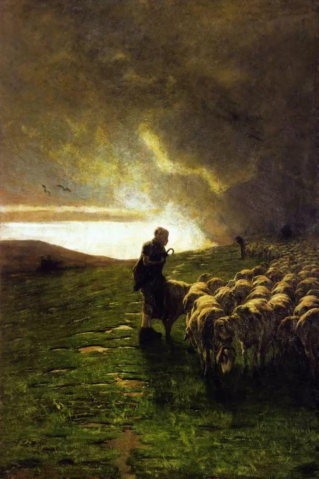 """英年早逝,从事艺术20年,被世人称为""""农民画家""""的Segantini插图20"""