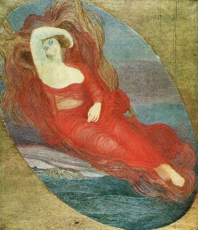 """英年早逝,从事艺术20年,被世人称为""""农民画家""""的Segantini插图23"""