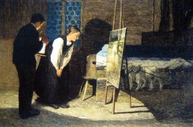 """英年早逝,从事艺术20年,被世人称为""""农民画家""""的Segantini插图24"""