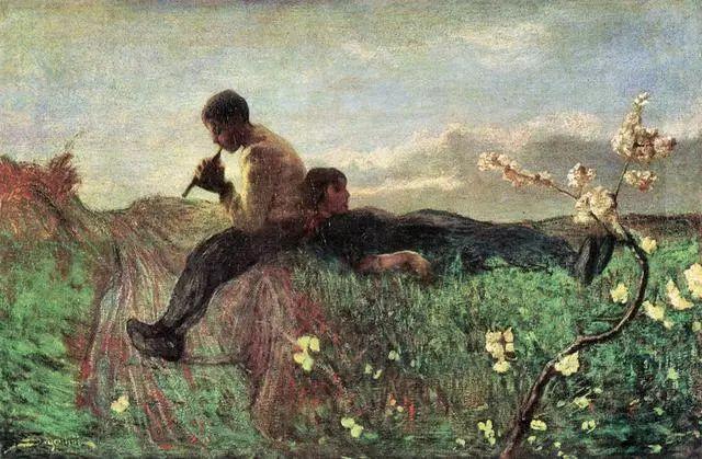 """英年早逝,从事艺术20年,被世人称为""""农民画家""""的Segantini插图25"""